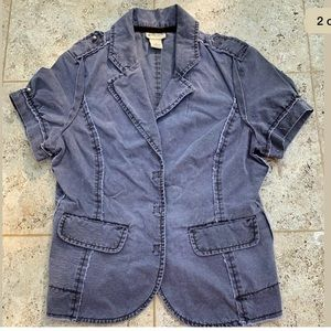 Anthropologie Elevenses Jacket Deconstructed 4